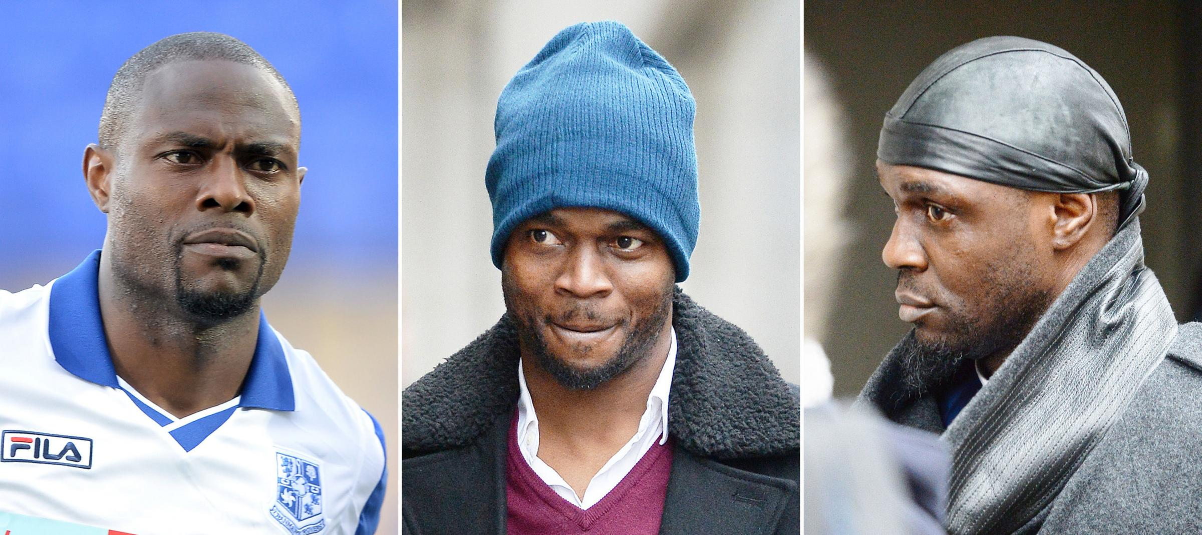 (left to right) Akpo Sodje, Sam Sodje and Efe Sodje | Picture: PA