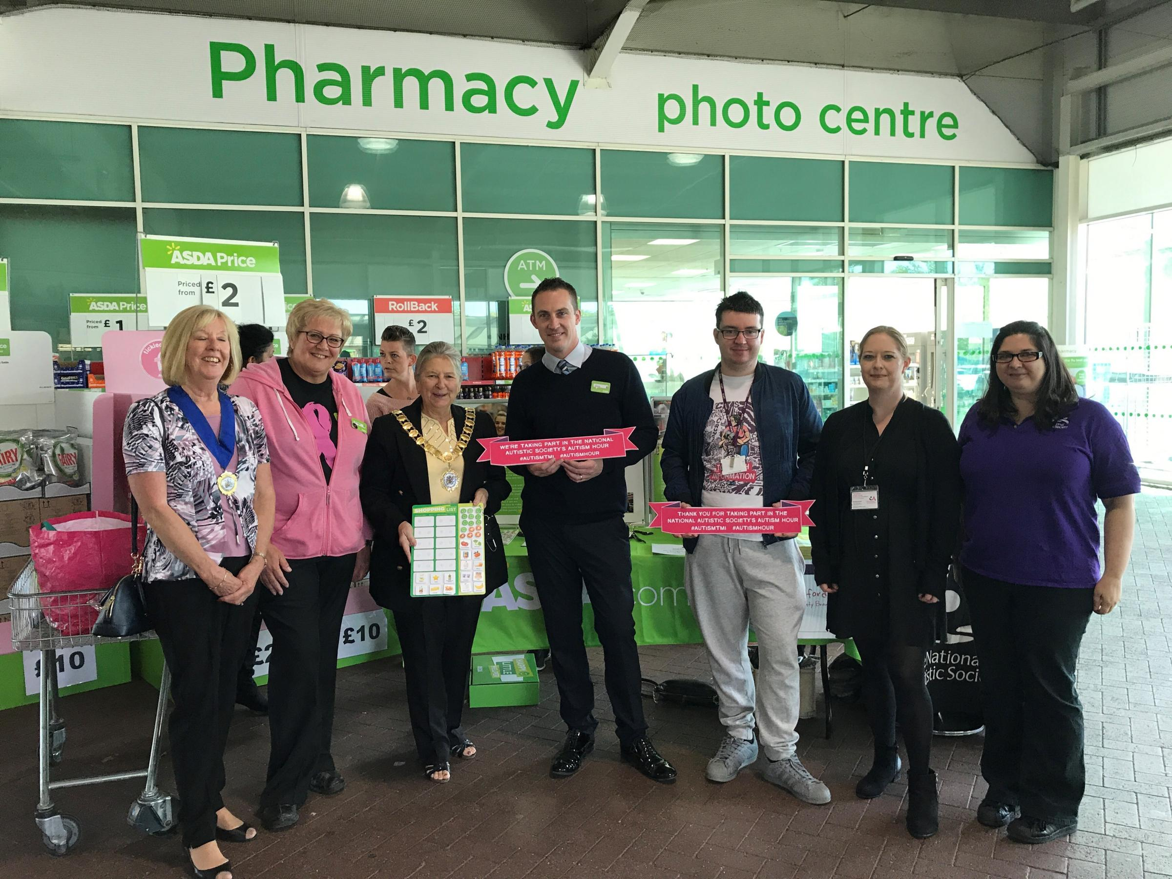 Asda in Greenhithe backs National Autistic Society campaign with