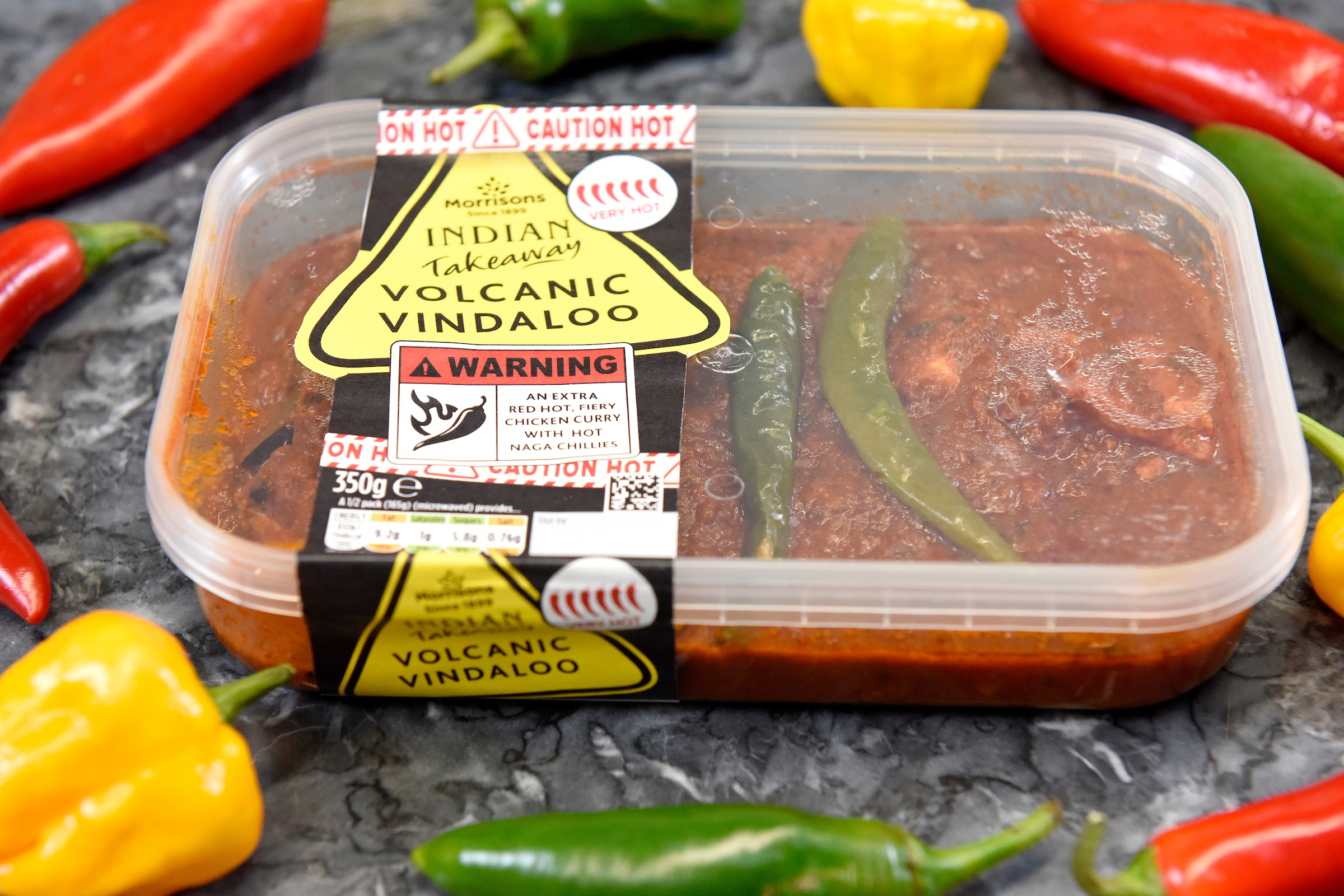Morrisons' Volcanic Vindaloo is the hottest ever supermarket curry