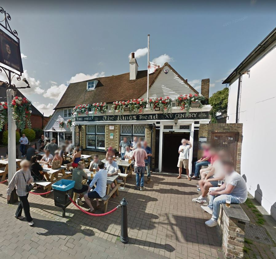The Kings Head/Streetview