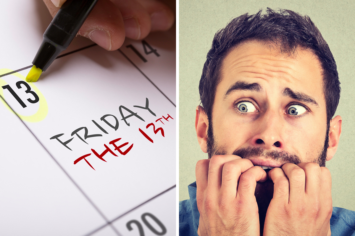 Are you worried about bad luck striking on Friday the 13th