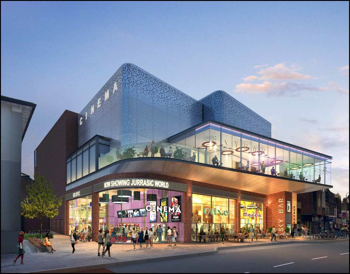 Nandos Pizza Express And Cinema Plan In Eltham Gets