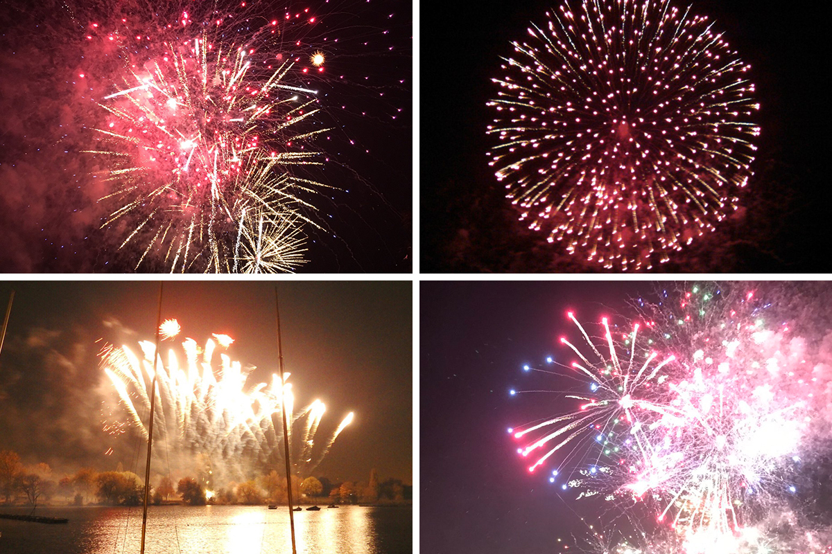 Get set for oohs and aahs at the many fireworks displays around south London and north Kent