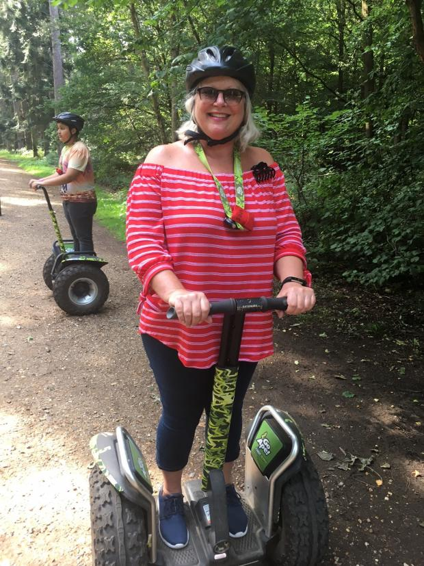 News Shopper: Forest Segway through picturesque Black Park in Buckinghamshire