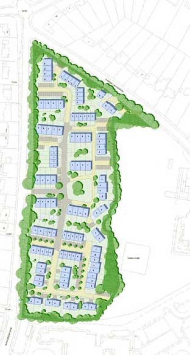A leafy patch of woodland in Bickley could be turned into a housing estate