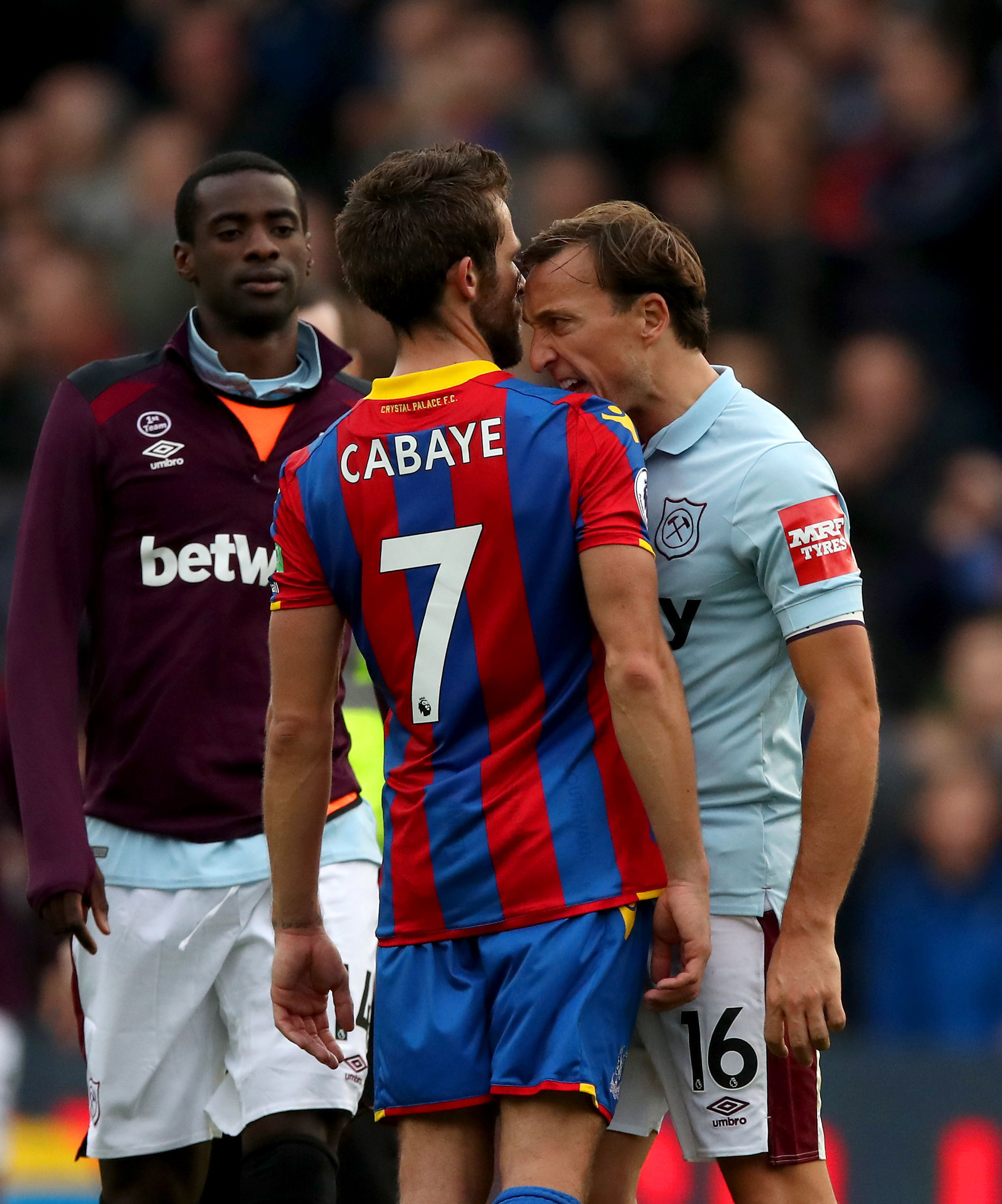 Yohan Cabaye and Mark Noble | Picture: PA
