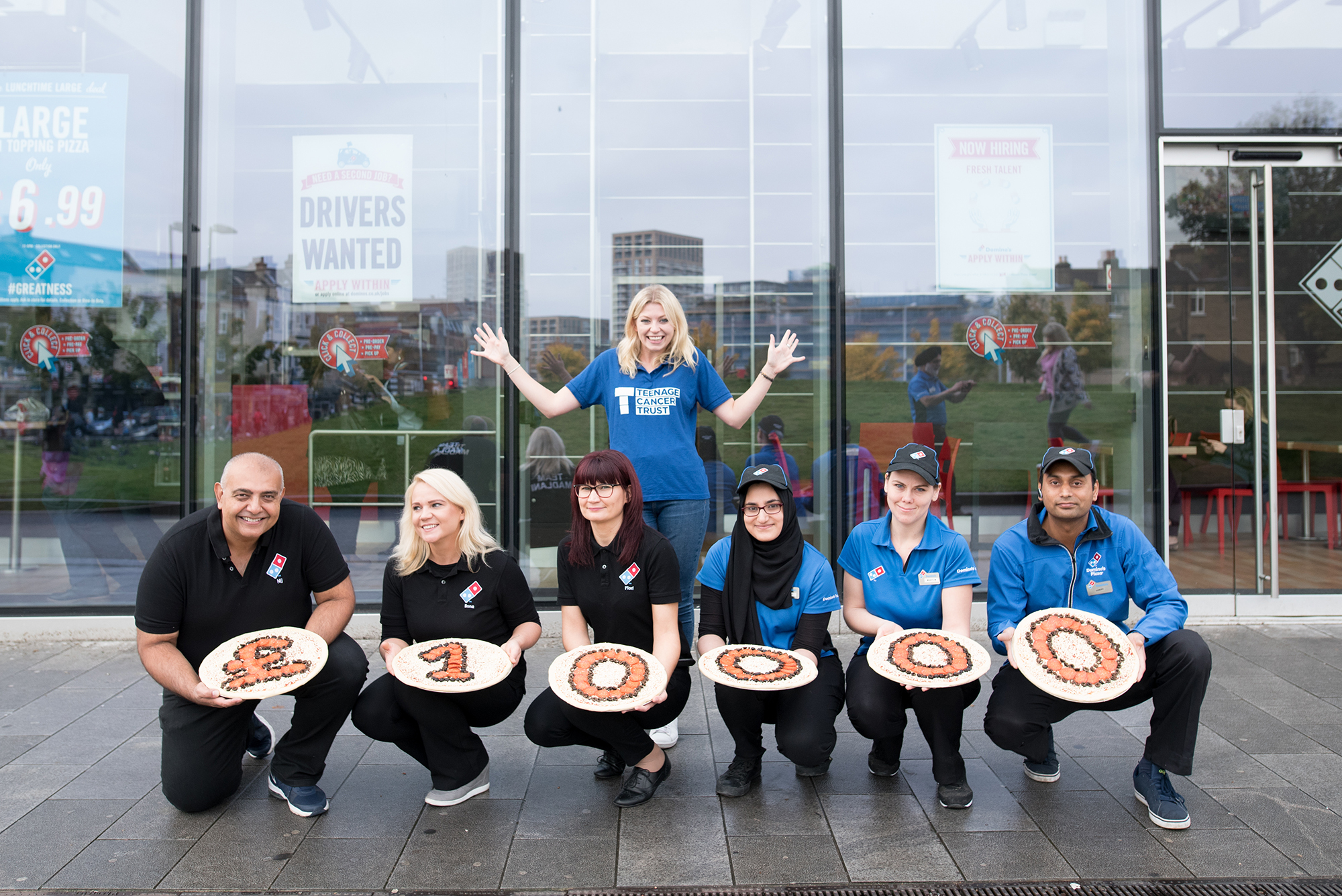 South east London pizza chains help raise funds to fight cancer