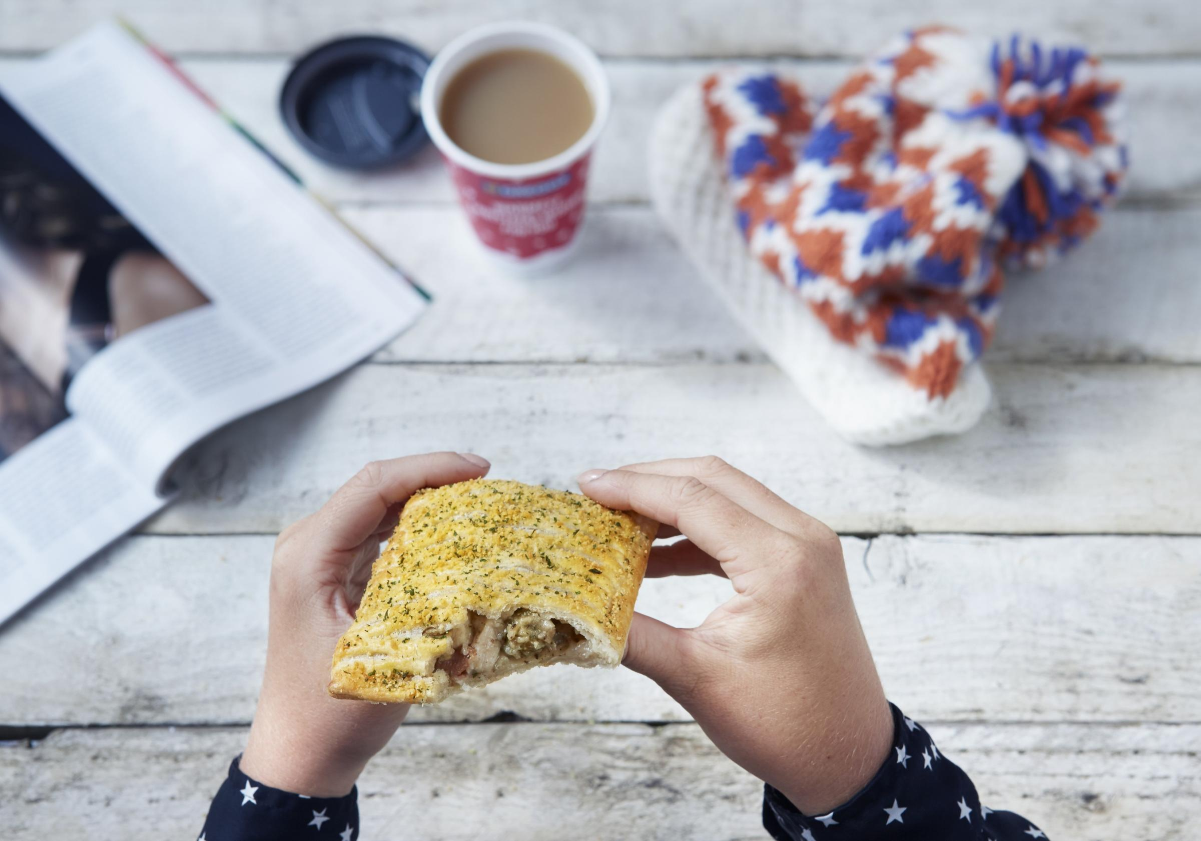 The popular festive bake is back at Greggs and they have a new festive menu