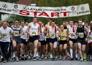 News Shopper: The start of the Croydon 10K