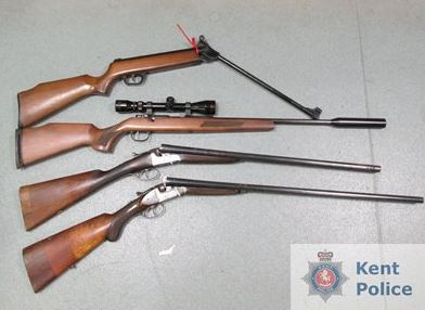 Guns handed in during the surrender last year