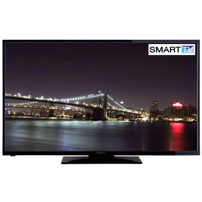 Digihome Black 4K Ultra Smart TV