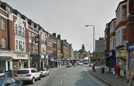 Beckenham High Street has reopened for the Christmas period