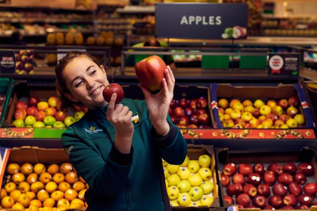 Morrisons is selling a crop of giant Braeburn apples