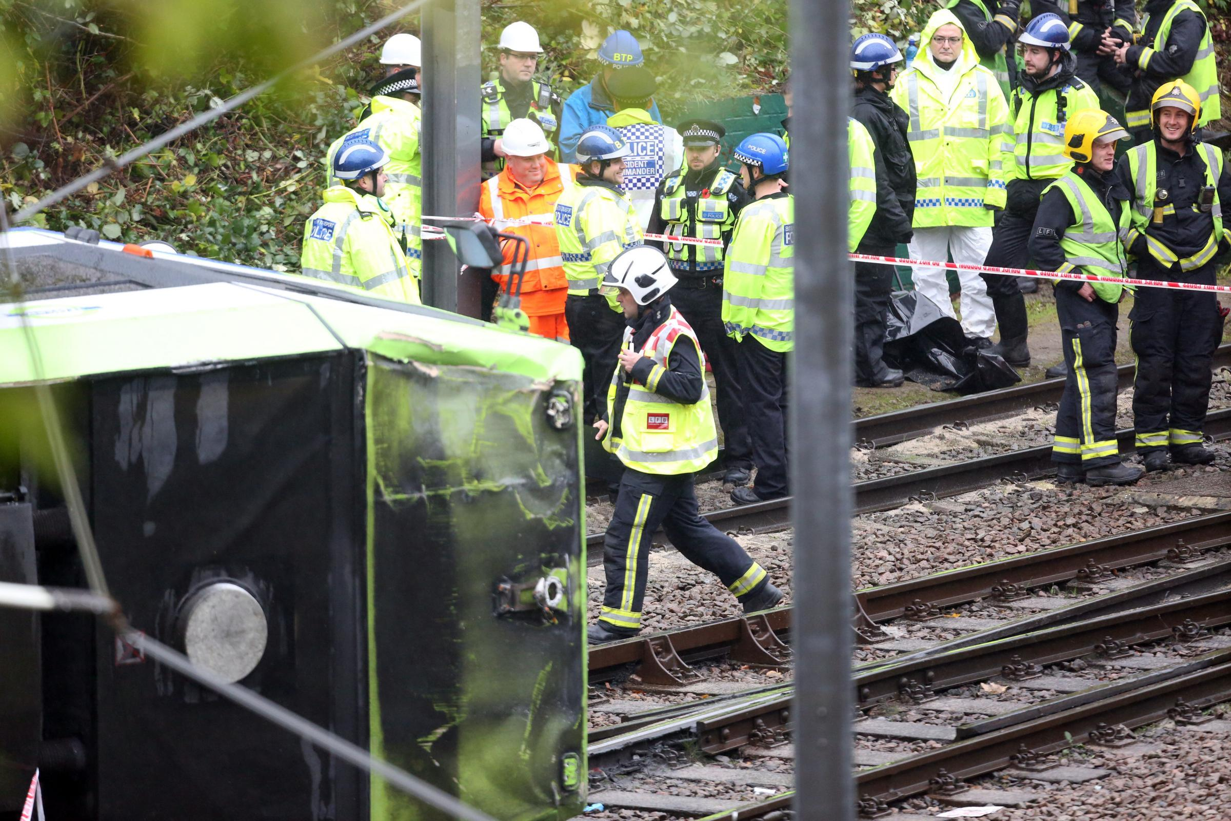 Croydon tram crash driver probably fell asleep before derailing, investigation reveals. Photo: PA Wire