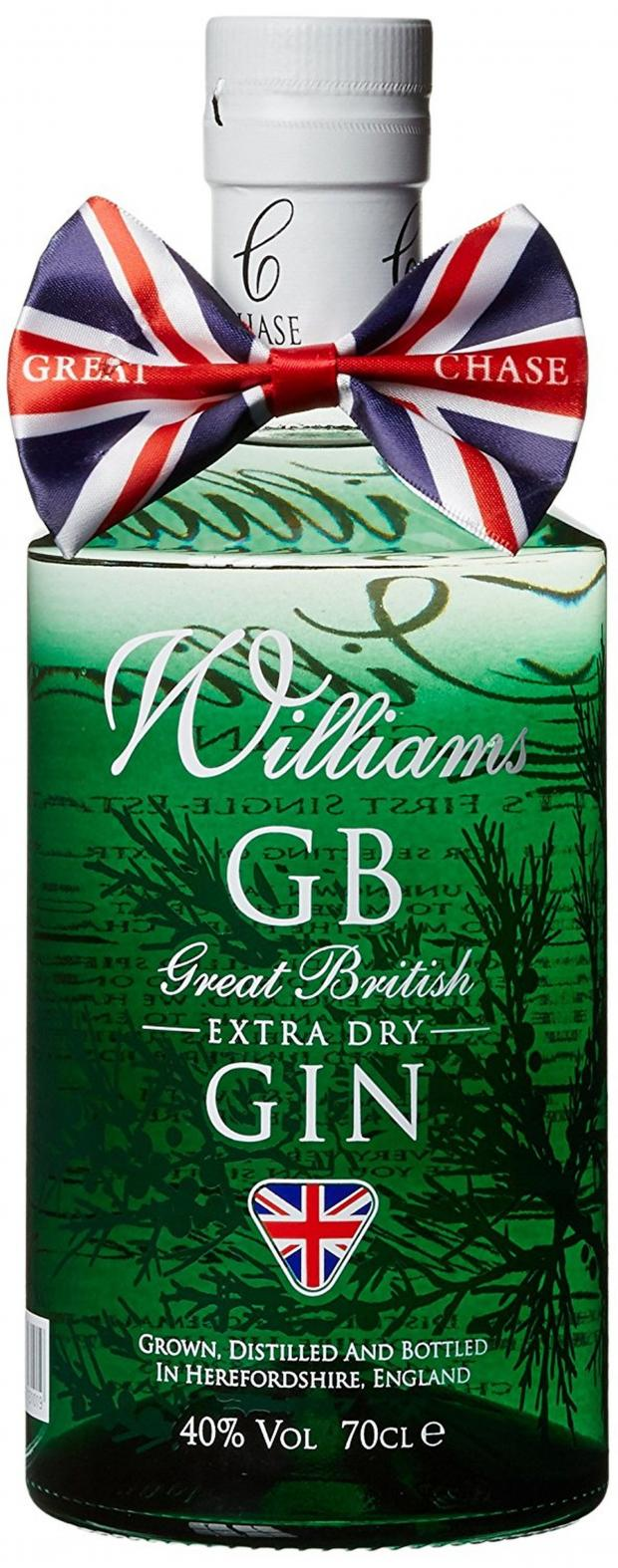 News Shopper: Williams GB Extra Dry Gin £25