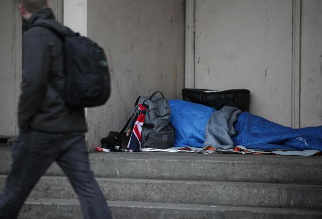 Emergency shelters across London will now be open every day of sub-zero temperatures to tackle rough sleeping. Photo: Yui Mok/PA Wire