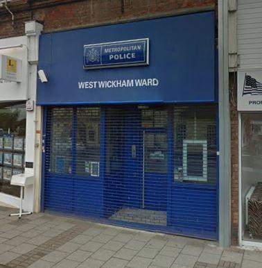 West Wickham police counter closed yesterday