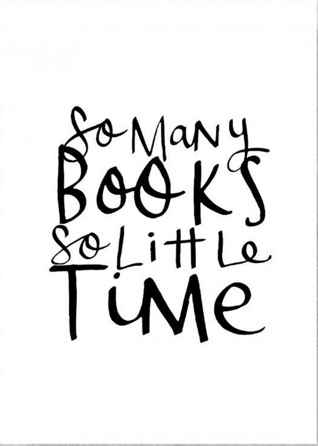News Shopper: Handmade at Amazon 'So Many Books So Little Time' Print by Violet & Alfie, £15