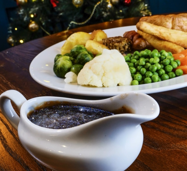 This SE London pub has launched bizarre glitter gravy for Christmas