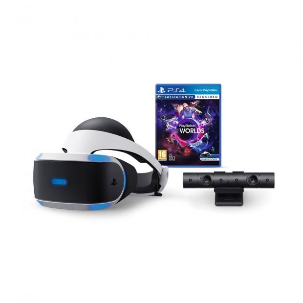 News Shopper: PlayStation VR starter bundle including VR Worlds and camera