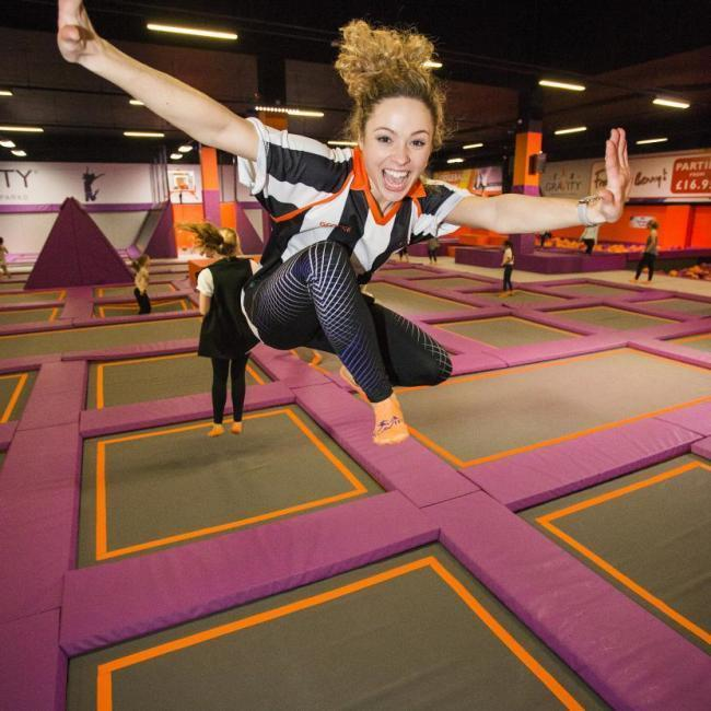 Gravity Trampoline Park has opened