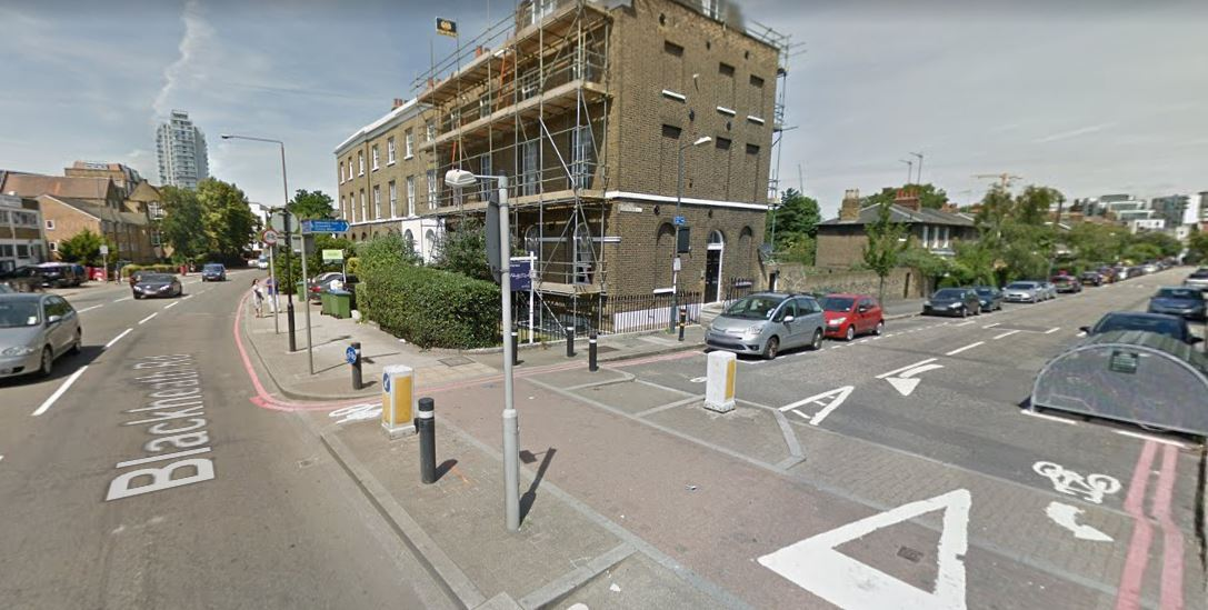 Blackheath Road at the junction with Egerton Drive. Photo: Google Maps / Street View