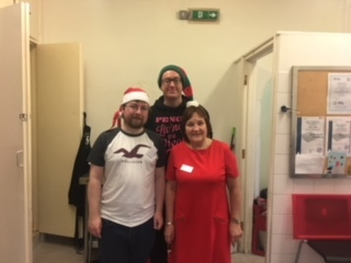 The Melvin Hall Community Group Boxing Day Christmas dinner