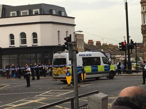 News Shopper: Police officers 'slashed' while dealing with fight in Plumstead High Street