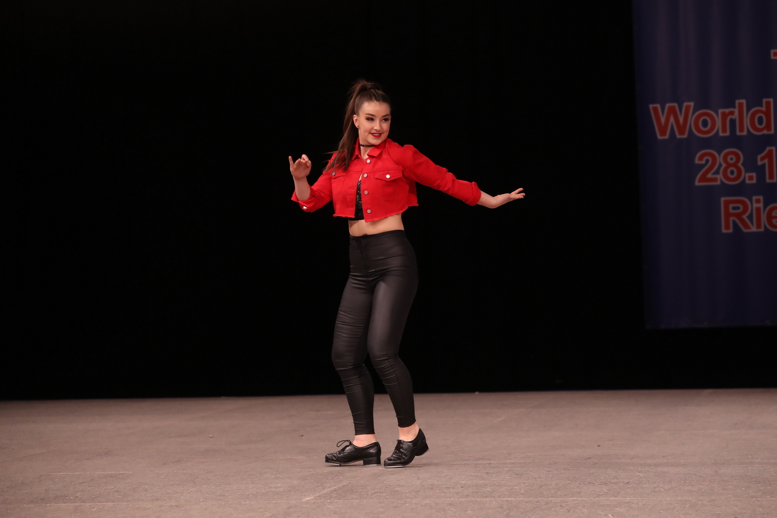 Liz Lundy went to the World Tap Championships
