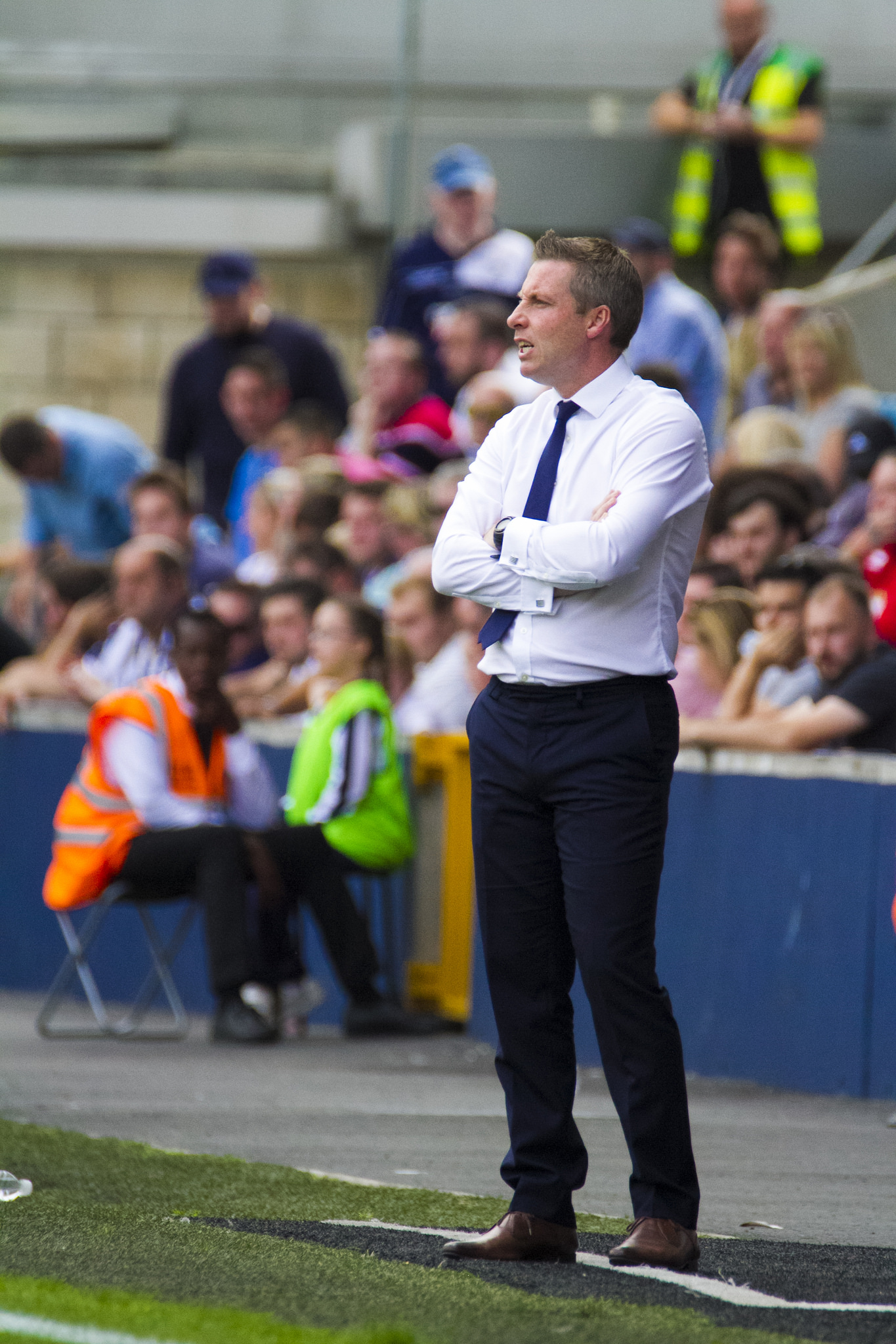 Millwall boss Neil Harris. Photo: Benjamin Peters Photography