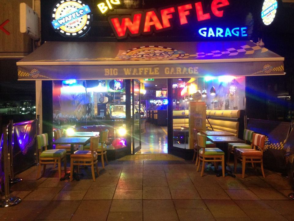 The Waffle Garage has closed down