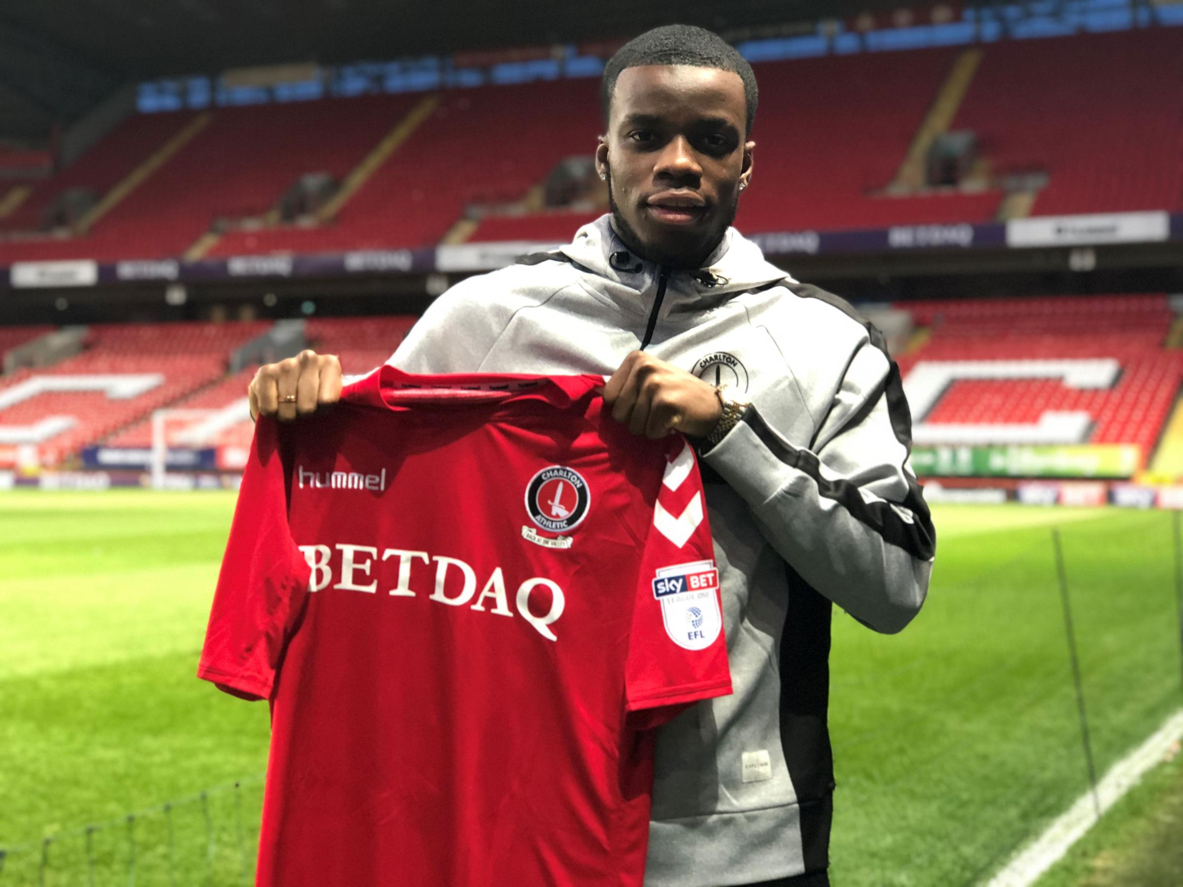 Stephy Mavididi | Picture: Charlton Athletic Football Club