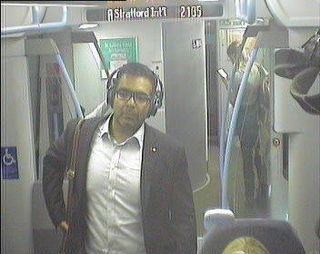 British Transport Police want to speak to this man