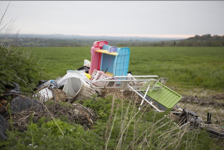 Fly-tipping can cost a lot
