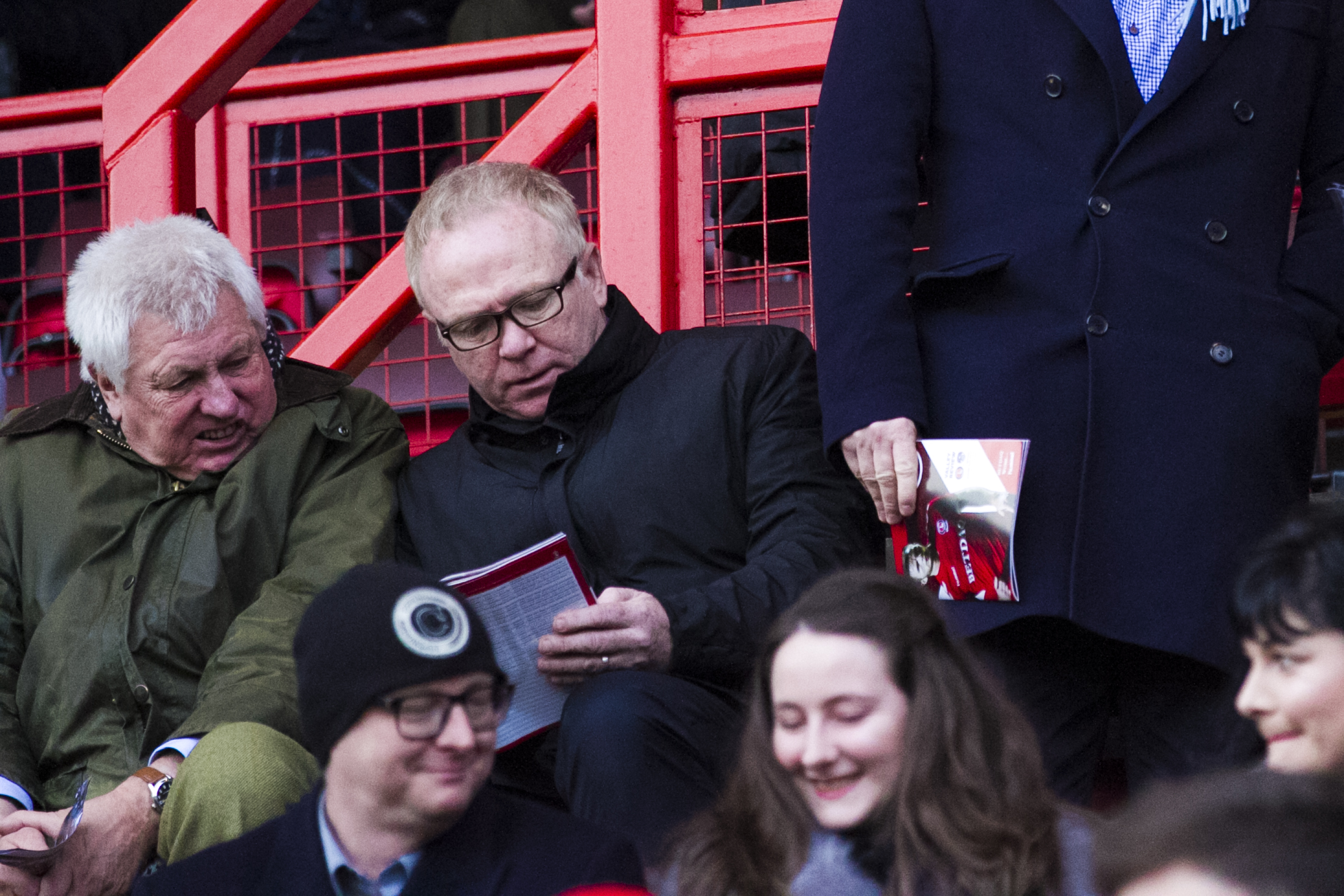 Alex McLeish (middle) | Picture: Benjamin Peters Photography