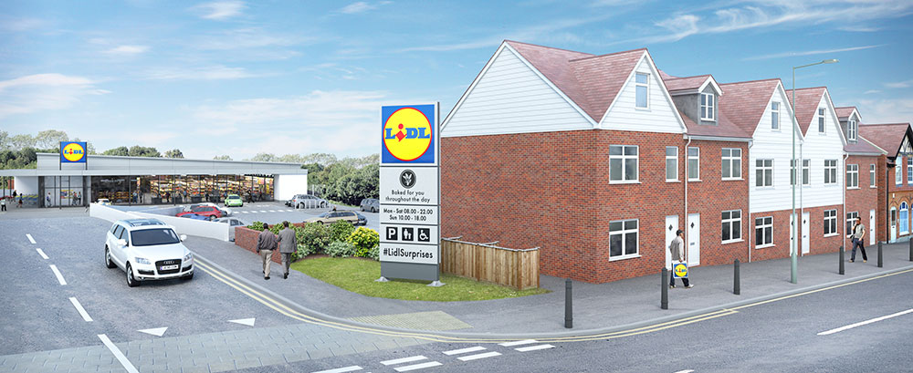 Lidl have plans for Foots Cray