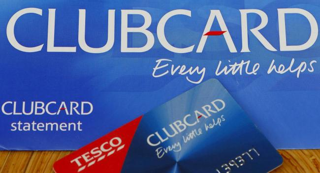 "Tesco says it has ""simplified"" its Clubcard rewards scheme. Photo: PA"