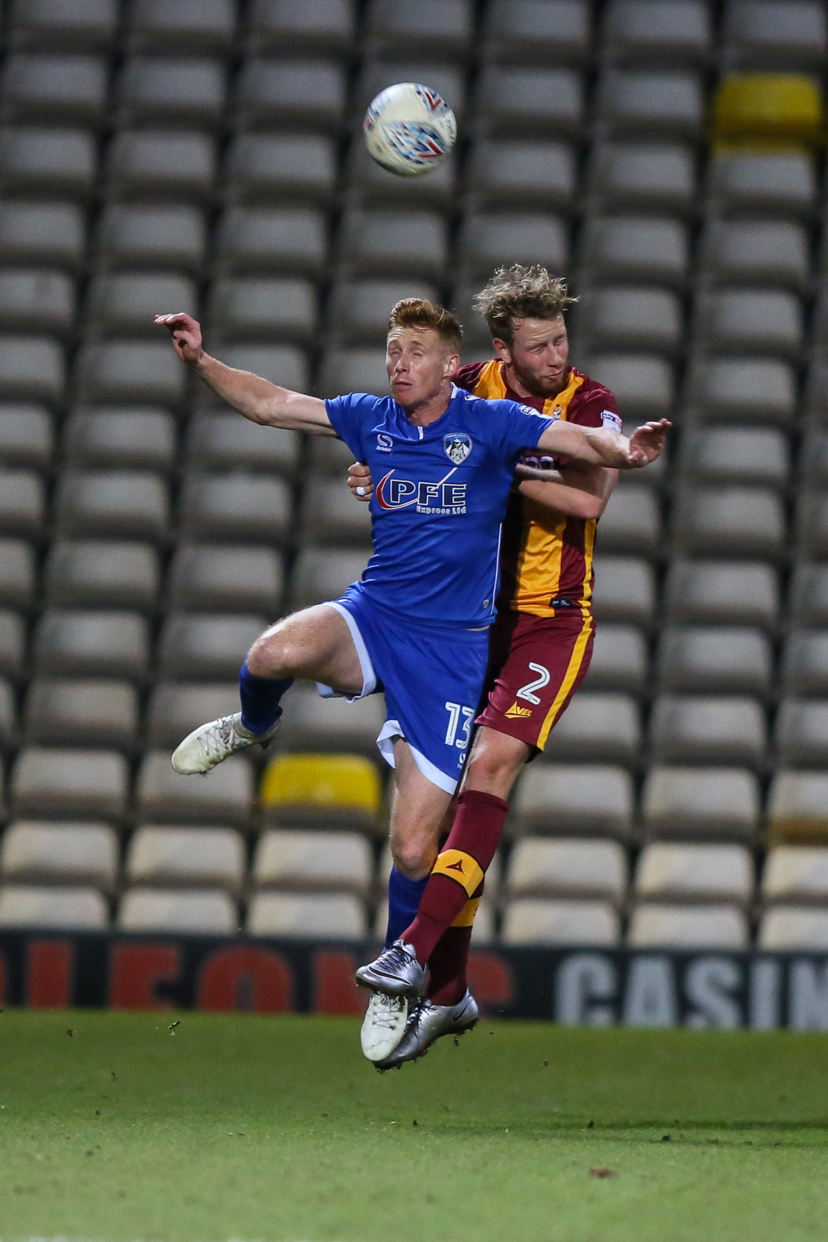 Eoin Doyle in action for Oldham
