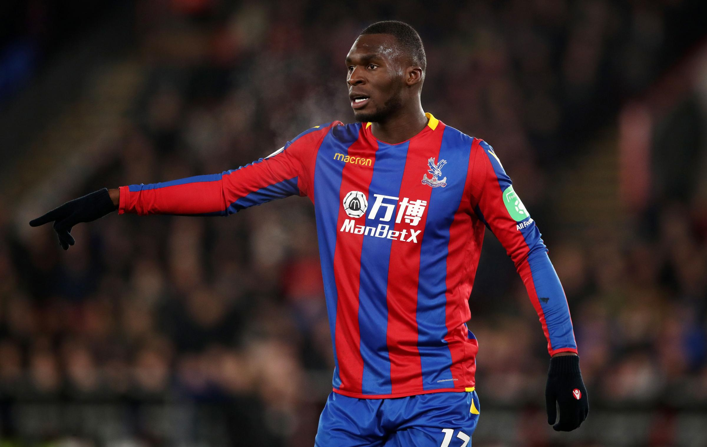 Crystal Palace's Christian Benteke. Photo: John Walton/PA Wire