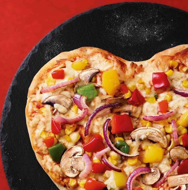 Valentine's partner or heart shaped pizza?