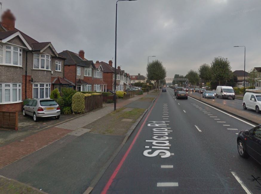 Ademola Lojede was given a council home on Sidcup Road in Eltham