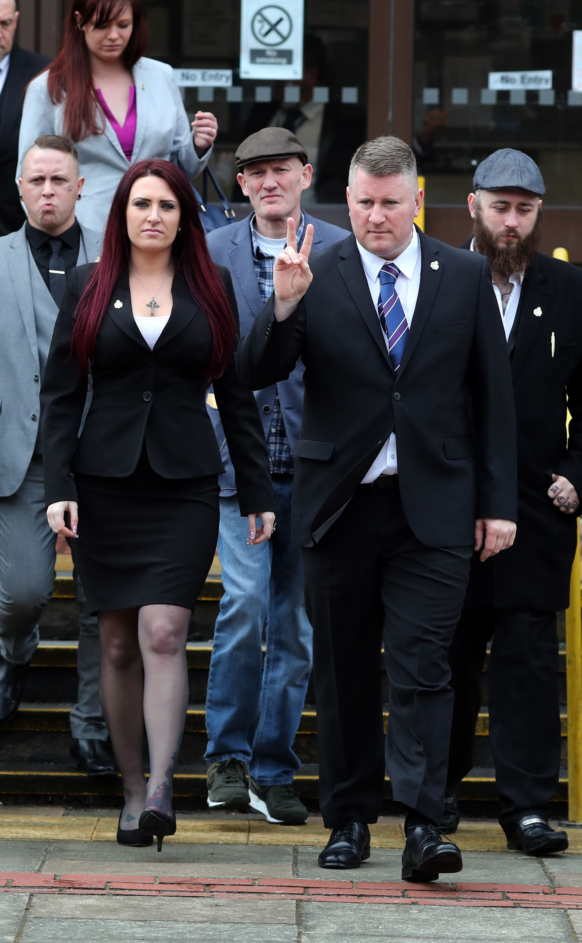 8b53c6dbab529 Britain First s Paul Golding and Jayda Fransen jailed for hate crime ...