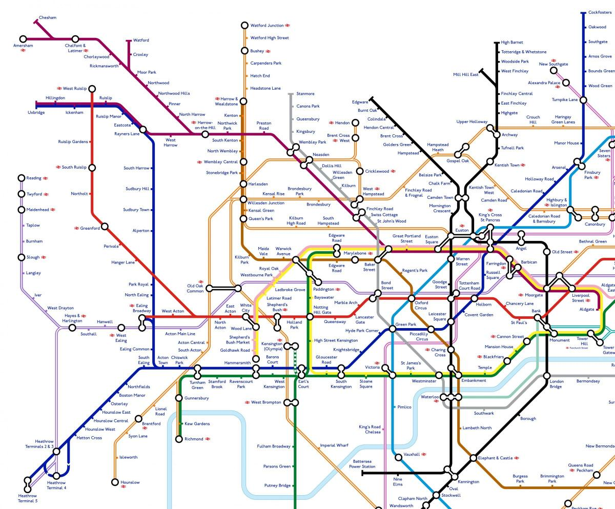 this is what the london underground map could look like in 2040