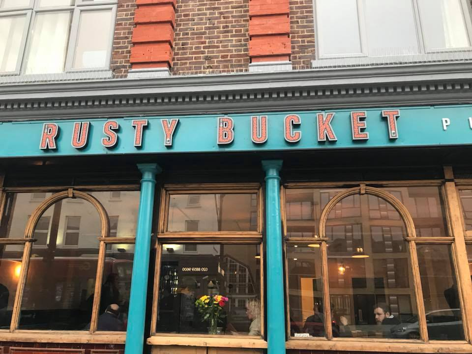 The new Rusty bucket pub in Eltham. Photo: Carly Methley