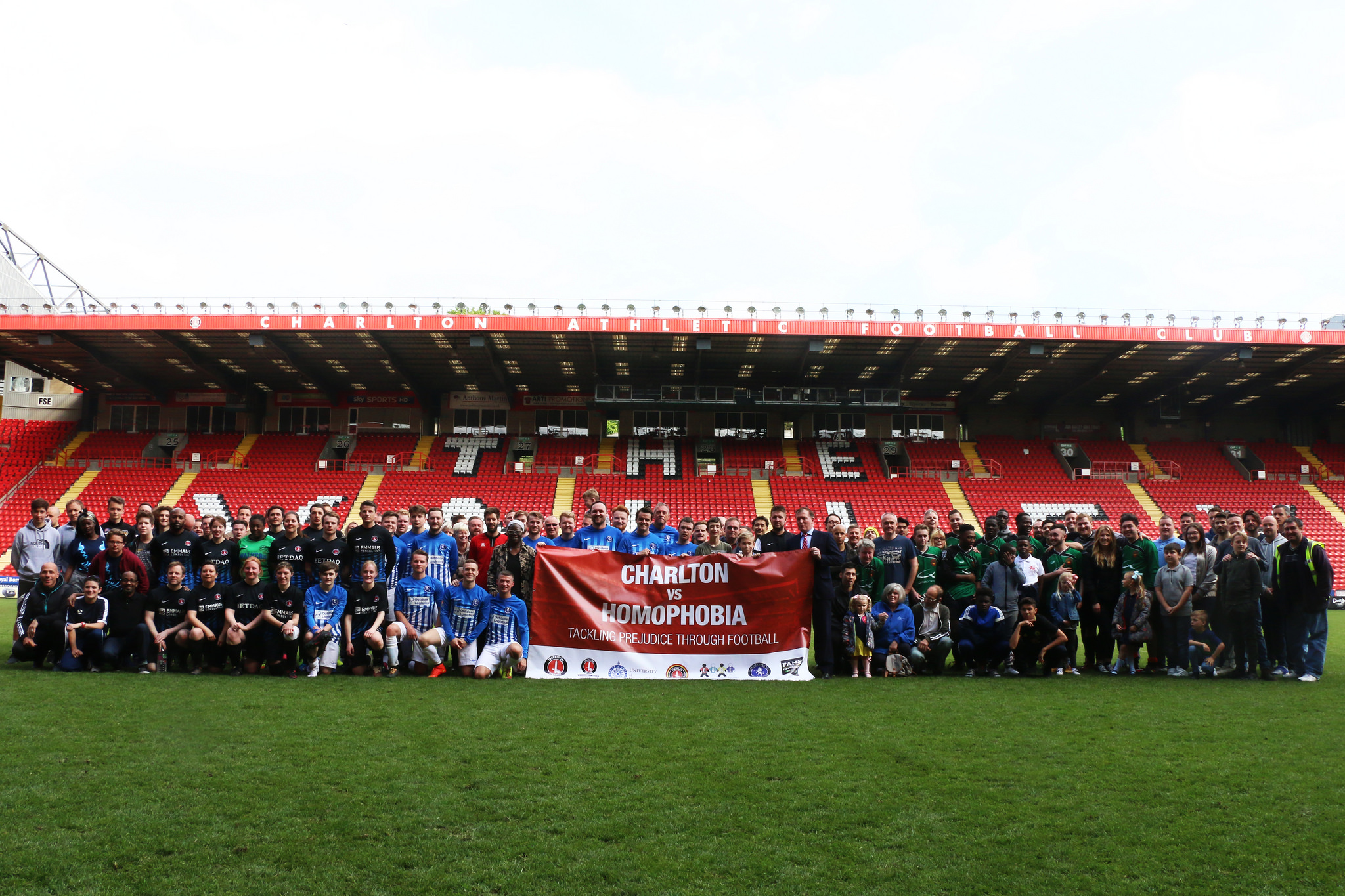 Last year's Charlton v Homophobia tournament | Picture: Benjamin Peters Photography