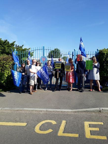 Green Street Green Primary staff strike on May 9
