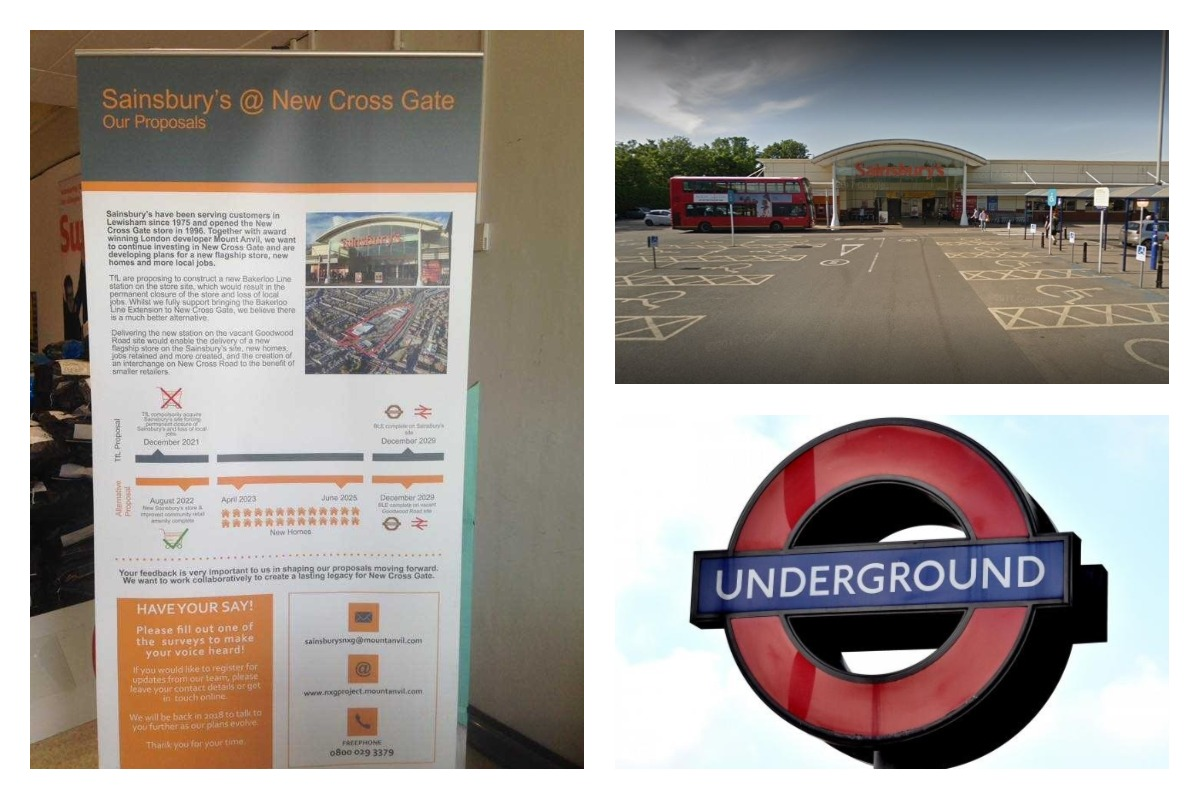 Tug of war between Sainsbury's and TfL over New Cross Gate site