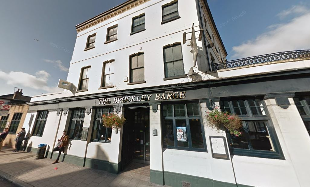 The Brockley Barge in Brockley was rated number one by the public on Tripadvisor
