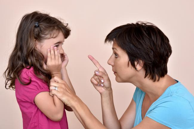 STOCK PHOTO 'Parents should not smack or humiliate a child in public'. Picture: Getty