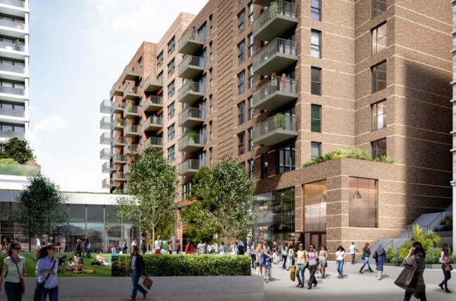 Plans to build a 13-storey housing development in Bexleyheath have been given the green light